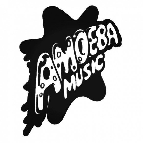Amoeba Music Decal Sticker