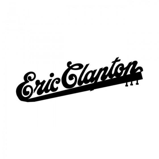 Eric Clapton Logo Vinyl...