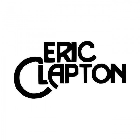 Eric Clapton Vinyl Decal...