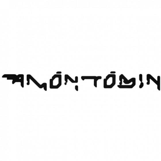 Amon Tobin Decal Sticker