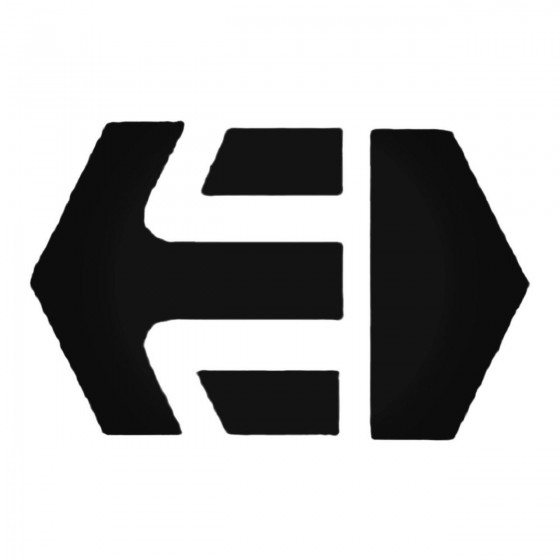 Etnies Block Decal Sticker