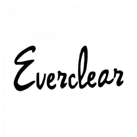 Everclear Vinyl Decal Sticker