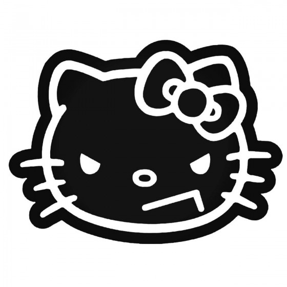 Evil Hello Kitty 2 Decal...
