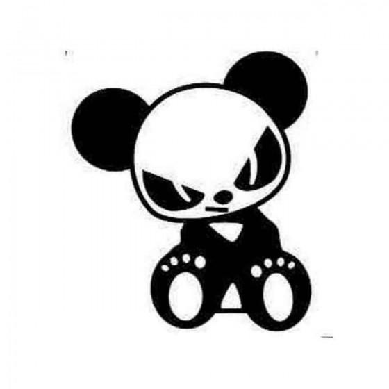 Evil Panda Jdm Decal Sticker