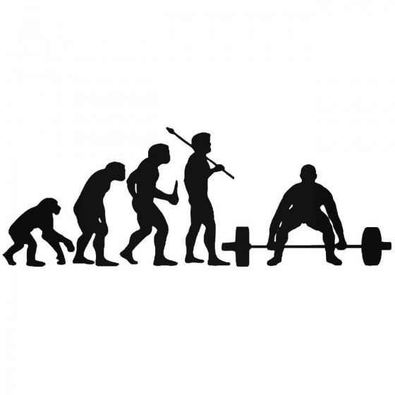 Evolution Of Weight Lifting...