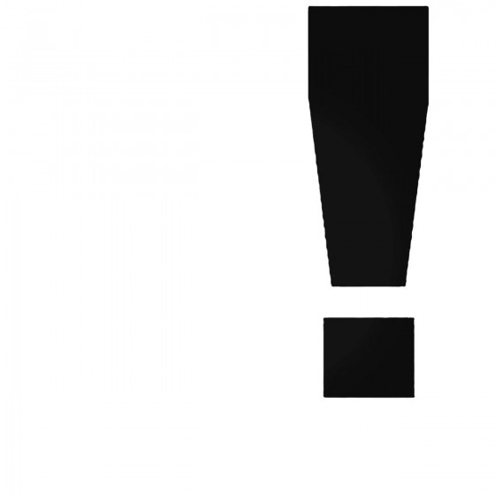 Exclamation Point Decal...