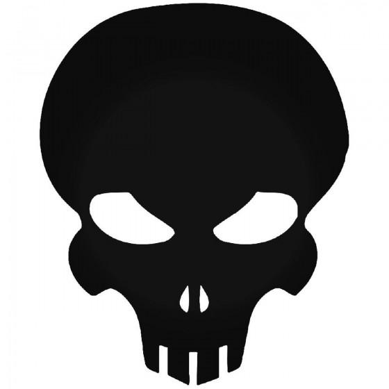 Exterminaton Skull Sticker