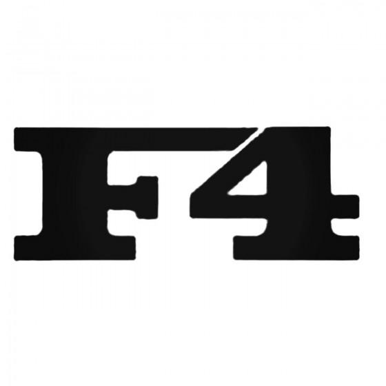 F4 Decal Sticker