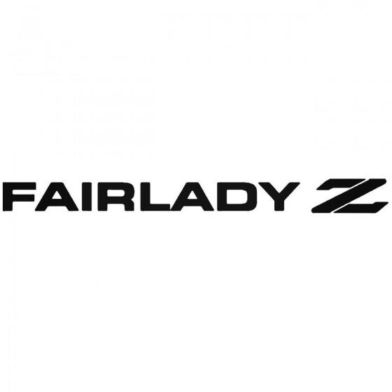 Fairlady Z Sticker