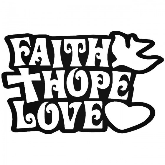 Faith Hope Love Christian...