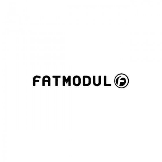 Fatmodul Decal Sticker