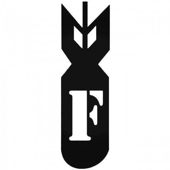 F Bomb 2 Jdm Car Decal Sticker