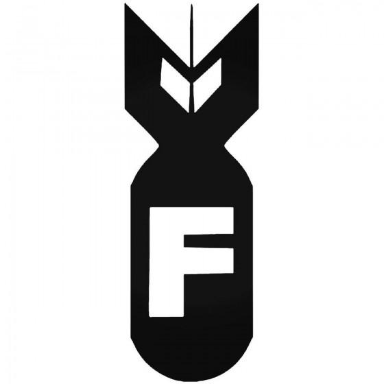 F Bomb 531 Sticker
