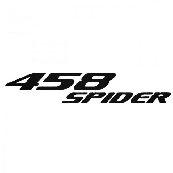 Ferrari 458 Spider Logo...