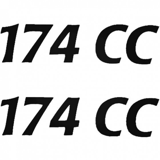 Cobia 174cc Boat Kit Decal...