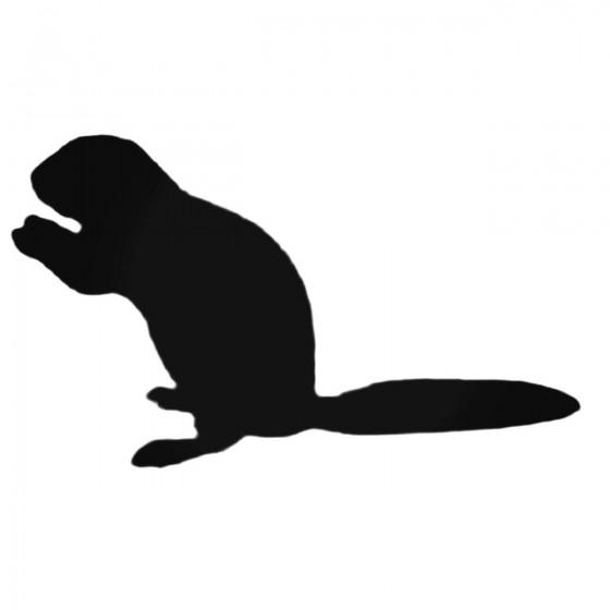 Ferret Feeding Decal Sticker