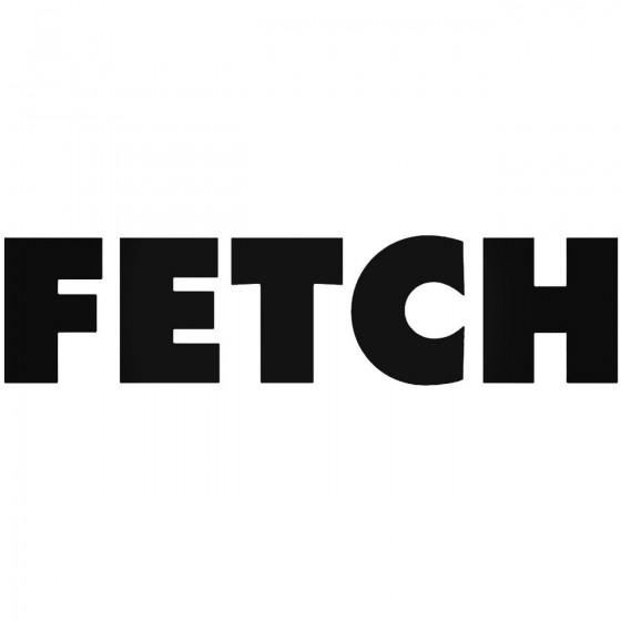 Fetch Mean Girls Decal