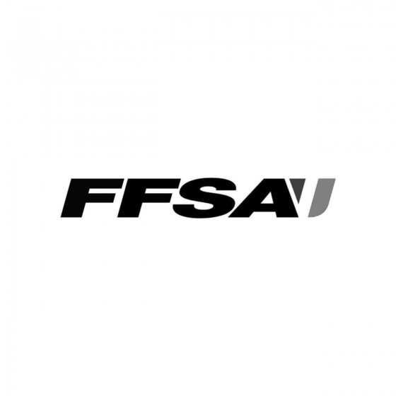 Ffsa Logo Vinyl Decal Sticker