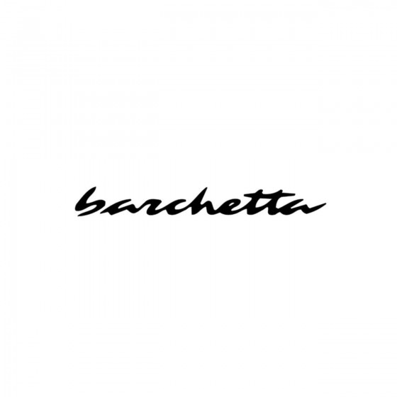 Fiat Barchetta Vinyl Decal...