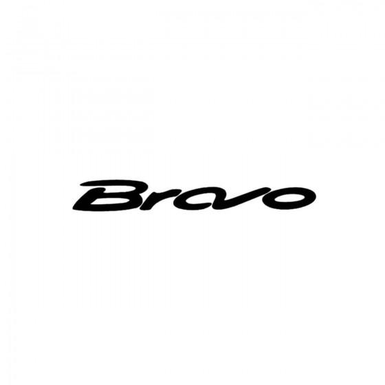 Fiat Bravo Vinyl Decal Sticker