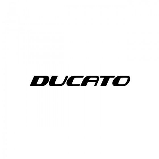 Fiat Ducato Vinyl Decal...