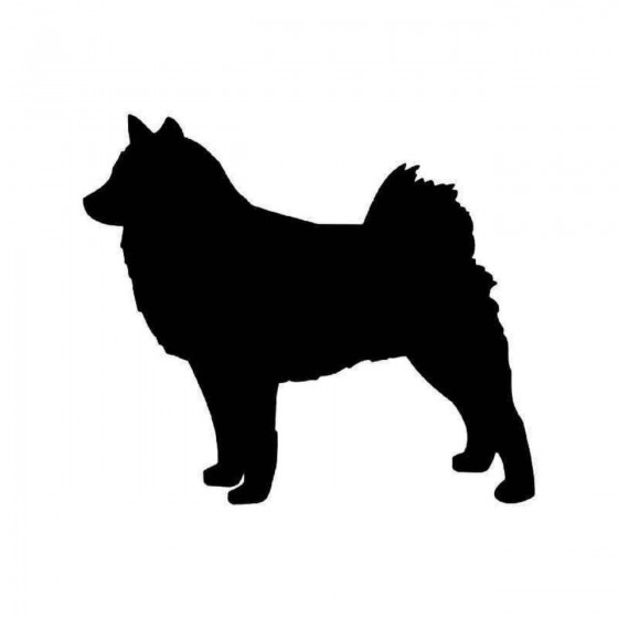 Finnish Spitz Dog Sticker