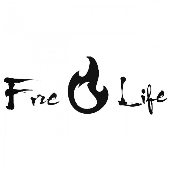 Fire Life Firefighter Decal...