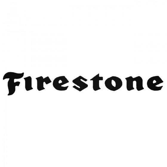 Firestone Aftermarket Decal...