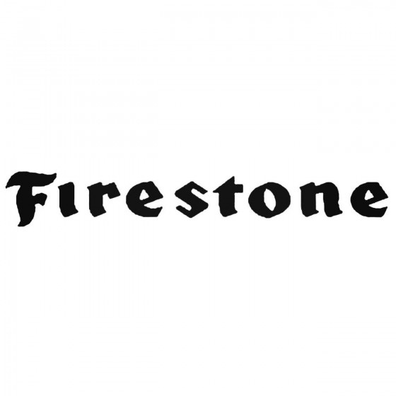 Firestone Tires 02 Decal...