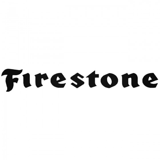 Firestone Tires S 01 Vinl...