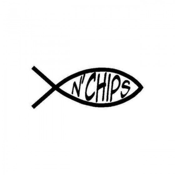 Fish N039chips Decal Sticker