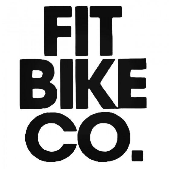 Fit Bike Co Decal Sticker