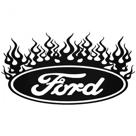 Flame Ford Graphic Decal...