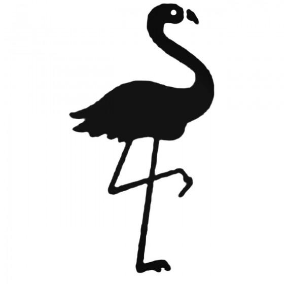 Flamingo Decal Sticker