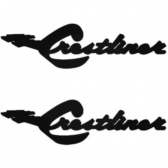 Crestliner Boat Kit Decal...