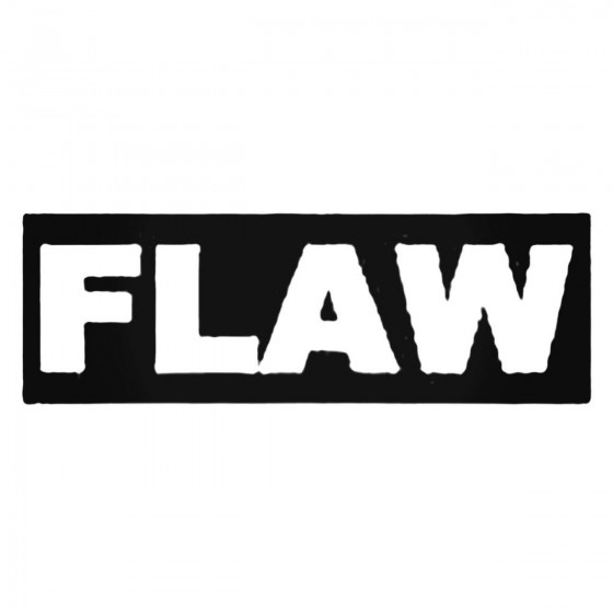Flaw Decal Sticker