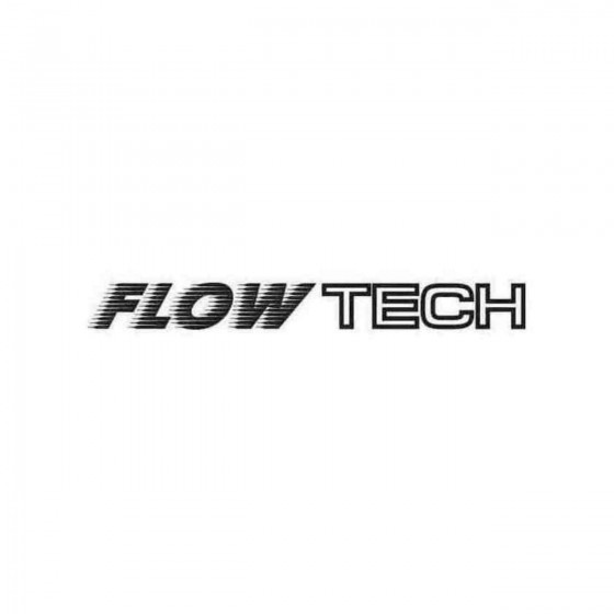 Flow Tech Graphic Decal...