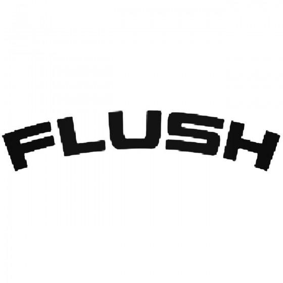 Flush Fender Decal