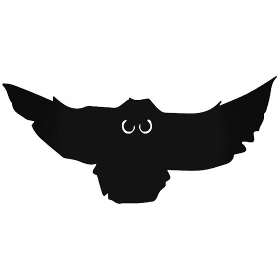Flying Owl Bird Sticker