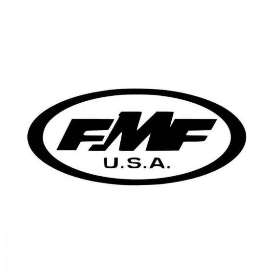Fmf Logo Car Vinyl Decal...