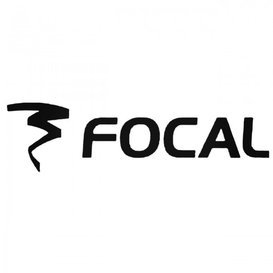 Focal Aftermarket Decal...