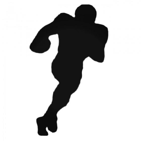 Football Running Back Decal...