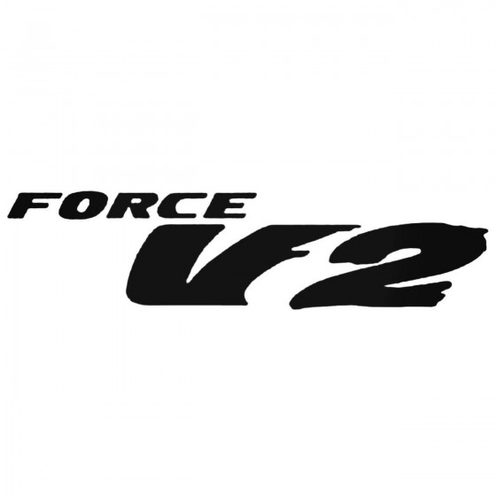 Force V2 Decal Sticker