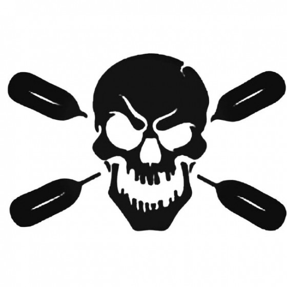 Death Skull And Oars...