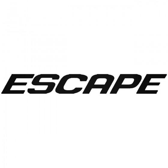Ford Escape Sticker