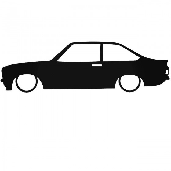 Ford Escort Mk2 Low Decal...