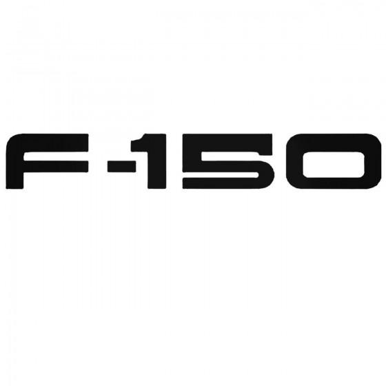 Ford F 150 Set Decal Sticker
