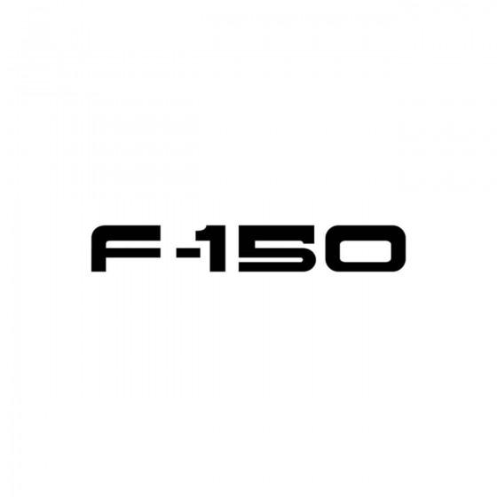 Ford F 150 Vinyl Decal Sticker