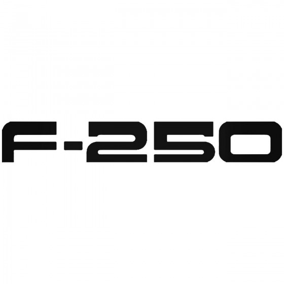 Ford F 250 Sticker