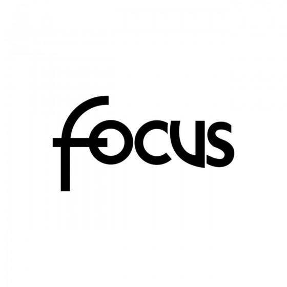 Ford Focus Logo Vinyl Decal...